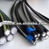 High Quality 600/100v Copper Conductor Aerial Bundled Abc Cable Aac Acsr/pvc Abc Cable