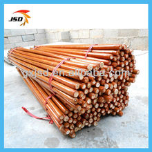 china plastic cover round wooden poles