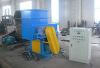 SGS/CE approved HDPE pipe single shaft shredder machine