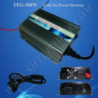 TEG-300W 24v to 120v DC to AC solar power inverter with mppt 300w for solar panel system