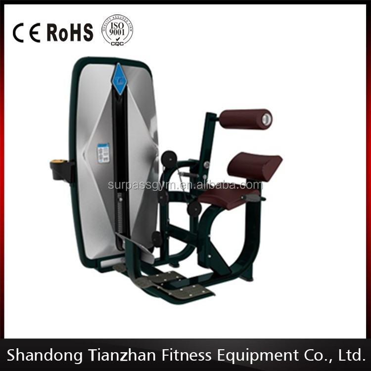 door gym exercise equipment/body strong fitnessabdominal exercise machines/ Back extension TZ-9006
