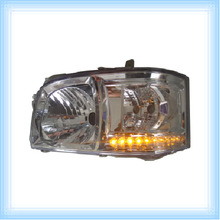TOYOTA HIACE/QUANTUM 2005 YELLOW LEDS CRYSTAL HEAD LAMP