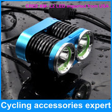2000 lumen led CREE XM-L2 X2 T6 bike bicycle front lamp light
