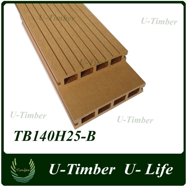 House design top quality wpc wood plastic outdoor flooring