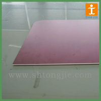 Inkjet printing high density pvc foam board