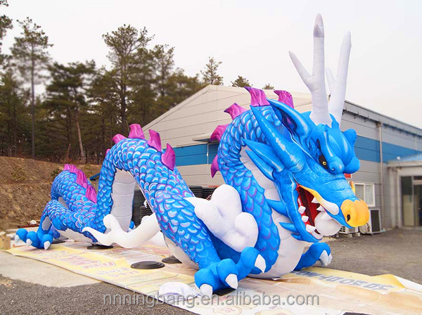 NB chinese tall inflatable chinese dragon for advertising