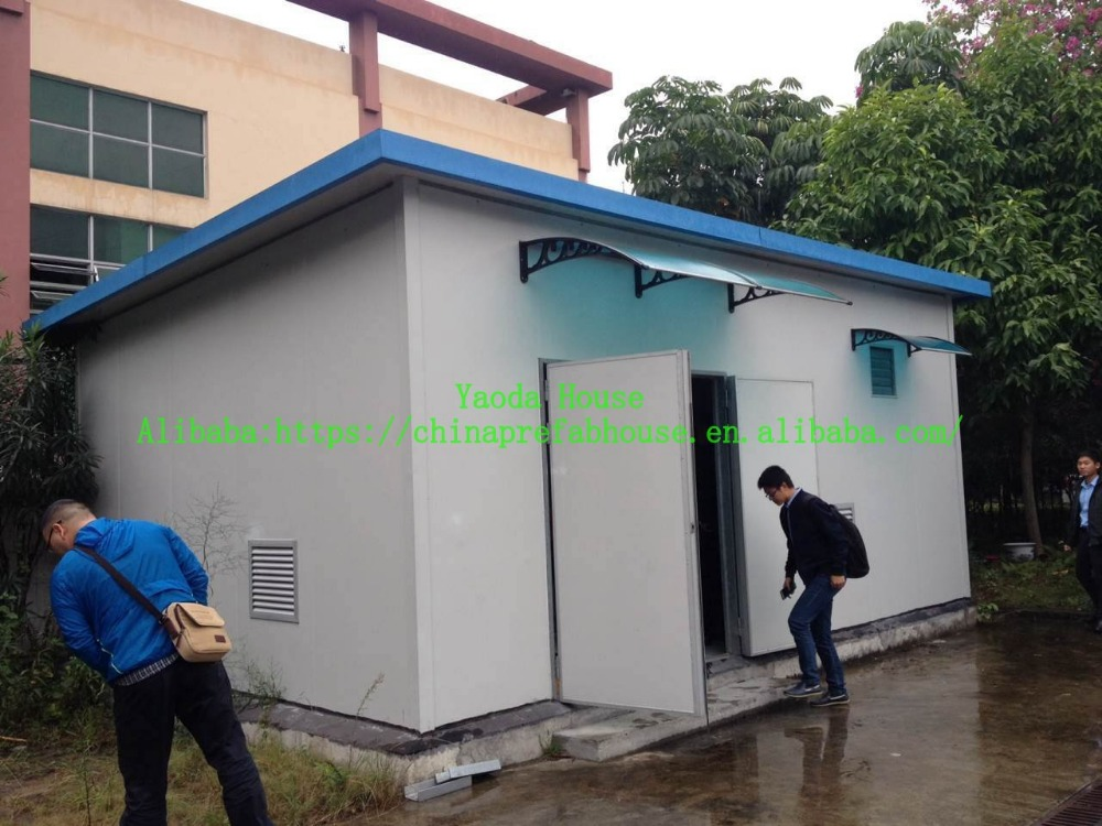 miniature houses T house for building construction solar power system home