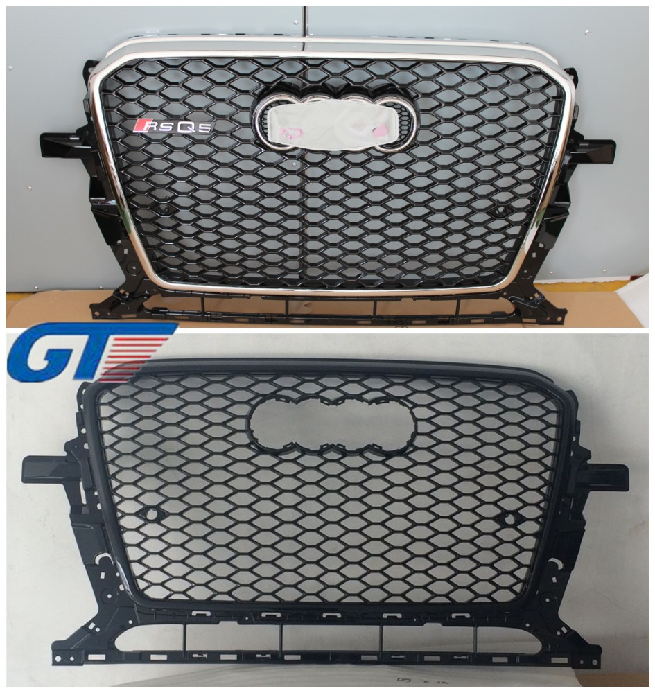 tuning auto parts car front bumper grilles for audi Q5 honeycomb mesh grills 8R