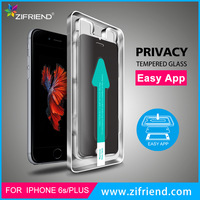 color privacy screen protector for iphone 6 with installation tool