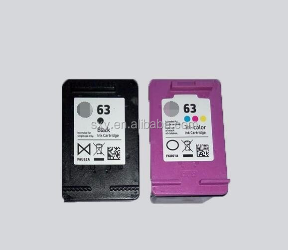 Printing Ink and Cartridge 63 for HP Ink Cartridge for HP Officejet 4650 Ink Cartridges