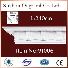 PU gypsum/ plaster cornice picture frame mould