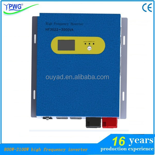 Automatic three-stage battery Charger power solar hybrid inverter with charger
