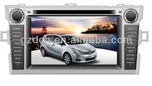 car dvd player for toyota corolla verso WS-9184