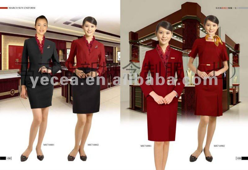 Hot sell staff unifrom/office uniform