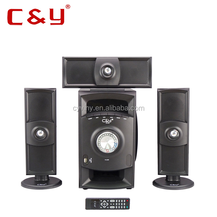 China factory price 3.1 ACDC USB Bluetooth home theater system
