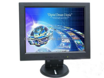 "12"" cctv lcd monitor with top quality and OEM service"