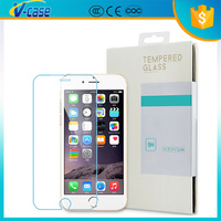 Hight quality ultra thin 4.7inch mobile phone 0.33mm 2.5D 9H tempered glass for iphone 6 6s