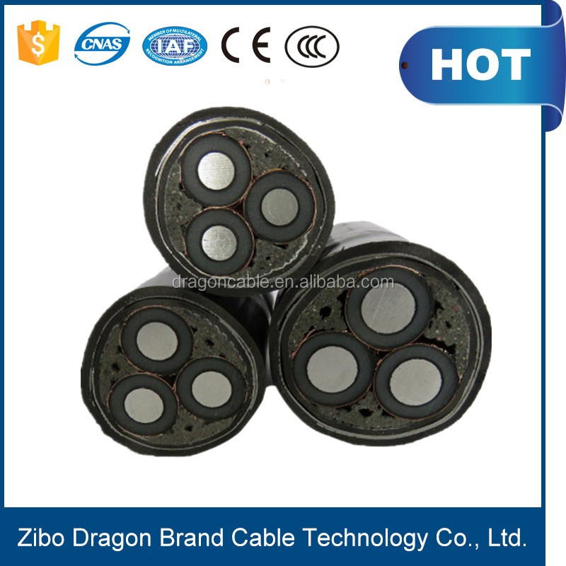 low voltage 3 core 185mm2 power cable