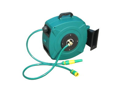 15M / 50Ft Rewindable Water Hose Reel, Garden Tool
