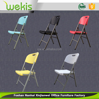 Wholesale light weight plastic folding outdoor chair for event