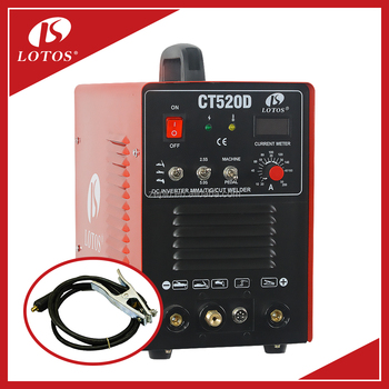 Lotos CT520D CT Plasma Cutter Arc Welder 3 in 1 Combo welder portable welding machine price