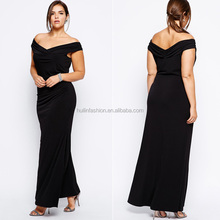 2014 hot sale fat ladies elegant evening dress for big size women dress evening dress
