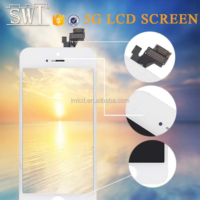 accept T/T payment for iPhone 5g lcd screen Phone accessories mobile,good quality for iphone 5g lcd touch screen