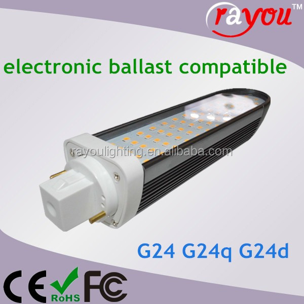 g24 led lamp comaptible electronic ballast g24d 2 led 8w 13w g24 plc led lamp for cfl replace. Black Bedroom Furniture Sets. Home Design Ideas