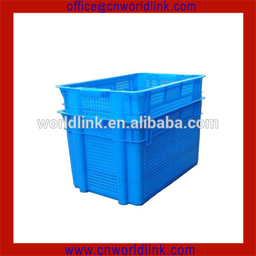 50kgs Harvest Agricultural Vegetable Stackable Vented Plastic Crate