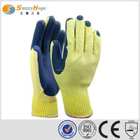 sunnyhope safety T/C blue on Palm Latex Coated Hand Glove