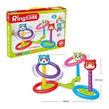 Cartoon Assemble Kids Toys Plastic Throw Ring Game Fashion Design Ringtoss Indoor Toy