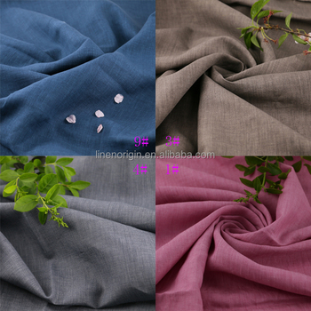 100% linen fabric wholesale,vintage delave linen fabric plain