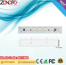 5w linear light dimmable driver led less flicker ac led module