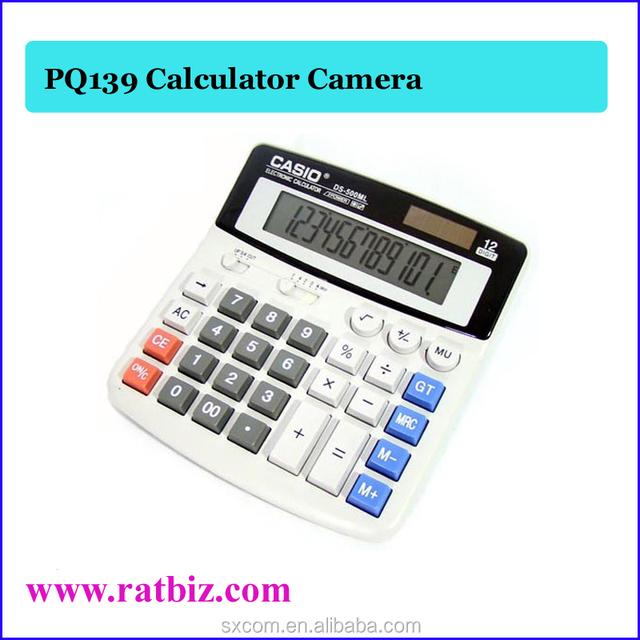 Mini Hidden Calculator Camera Vedio Recorder Built-in 4GB DVR Security Pin Hole Camera PQ139