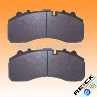 WVA 29087 brake pad for mercedes benz truck parts with shim