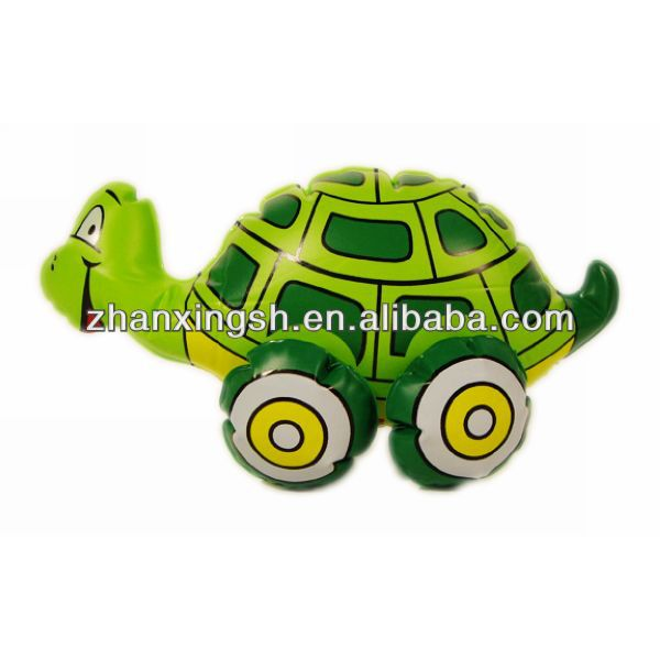 2014 shanghai zhanxing hot sale top fun small inflatable turtle toys for kids in good price