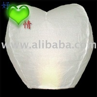 heart sky lantern with CE certificate