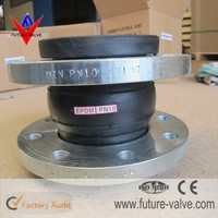 PN10 PN16 Expansion Joint Rubber Bellows