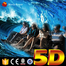 Safe and reliable arcade 5d dynamic 7d cinema theater