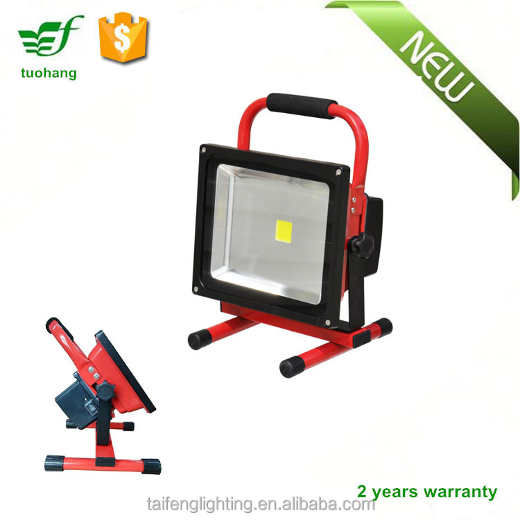 Rechargeable Work Light 10W 20W 30W 50W Battery Powered LED Floodlight IP65 Dimmable LED Flood Light Portable