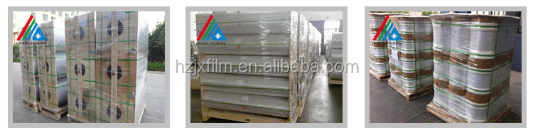 Transparent plastic film roll price