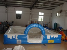 QIQI inflatables chemical for swimming pool water inflatable water pool