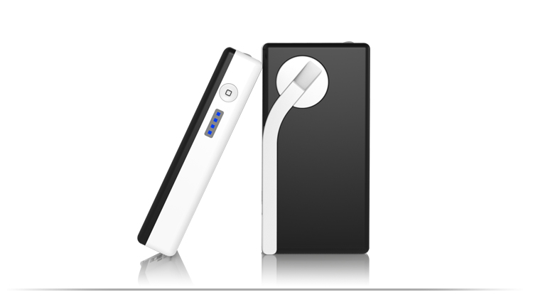 portable mobile phone hand power bank 2600mah