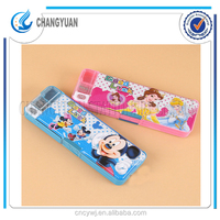 (CY6325) Plastic Material and Pencil Case Type pencil box for kids