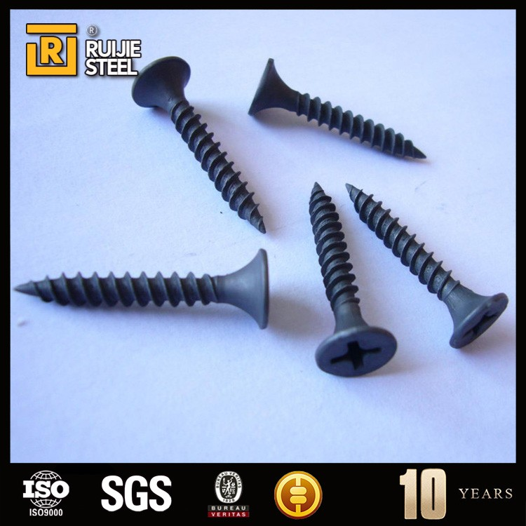 C1022 best quality black wall fasteners for drywall with hardness(Tianjin factory)