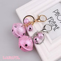 Wholesale New Arrival Special Pink Colorful Bell Keychain Hand Bag Accessories For Christmas Decoration