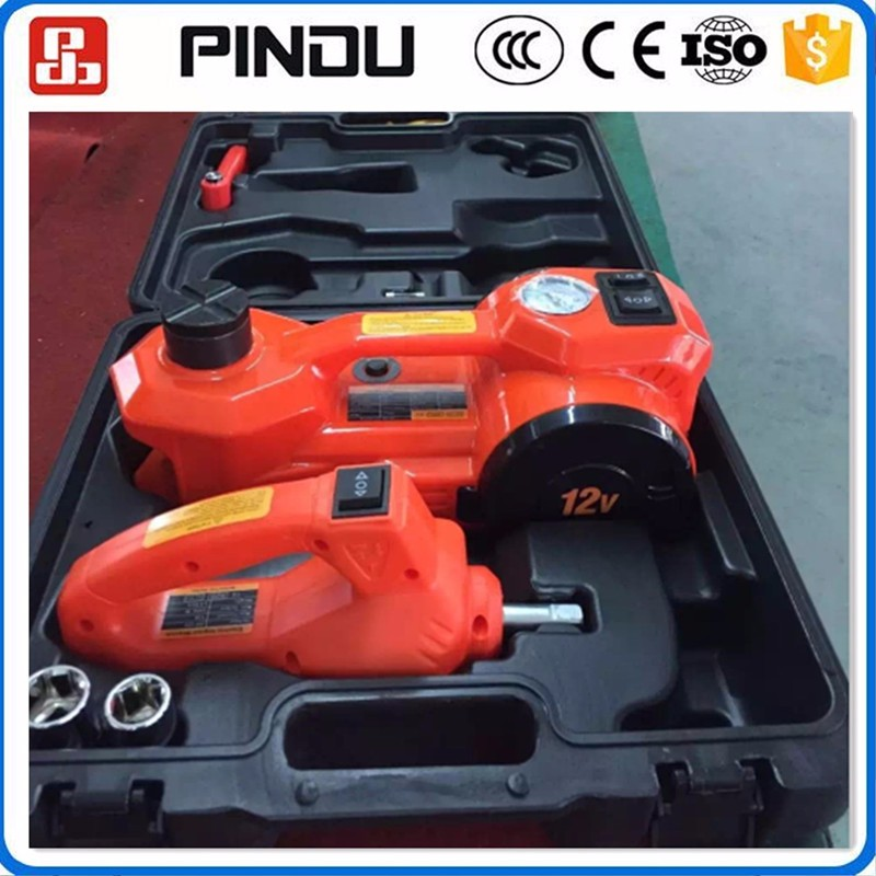 3 ton 12v hydraulic electric car jack impact wrench