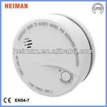 10 year battery powered fire station smoke alarms detectors system