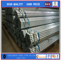 galvanized steel pipe fence post made in China