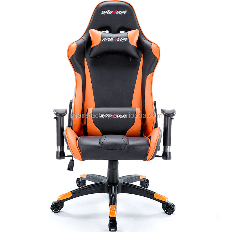 luxury orange leather office chair sports racing chair reclining office chair of f1 buy orange. Black Bedroom Furniture Sets. Home Design Ideas